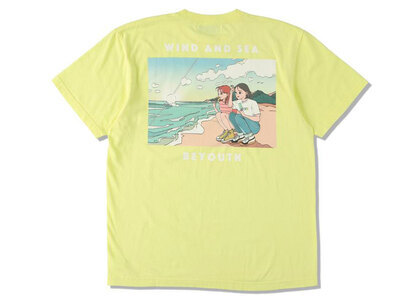 Yoshifuku Honoka × WIND AND SEA Tee Beach Yellowの写真