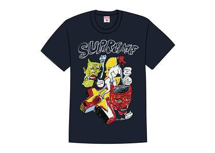 Supreme Daniel Johnston Tee Navyの写真