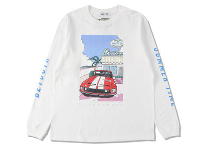 Yoshifuku Honoka × WIND AND SEA L/S Tee Car Whiteの写真