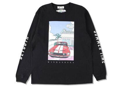Yoshifuku Honoka × WIND AND SEA L/S Tee Car Blackの写真