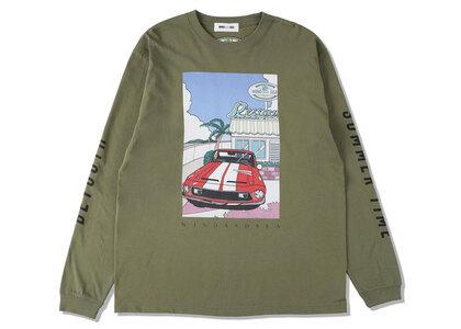 Yoshifuku Honoka × WIND AND SEA L/S Tee Car L/Oliveの写真
