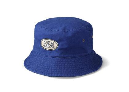 Yoshifuku Honoka × WIND AND SEA Bucket Hat Blueの写真