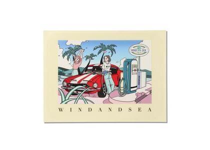 Yoshifuku Honoka × WIND AND SEA Car Sticker Carの写真