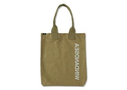 WIND AND SEA Reflect Canvas Tote Bag Oliveの写真