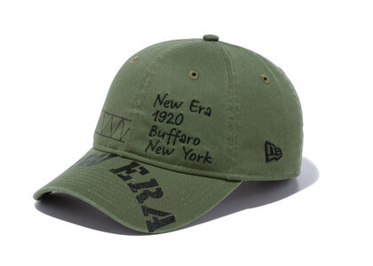 New Era 9THIRTY Military Military Embroidery Print New Oliveの写真