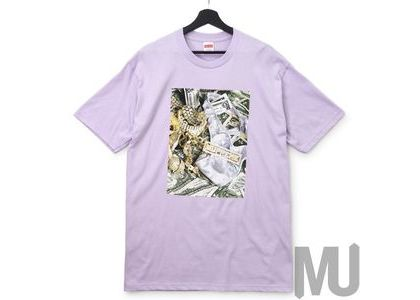 Supreme Bling Tee Light Purpleの写真