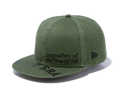 New Era 59FIFTY Military Military Embroidery Print New Oliveの写真
