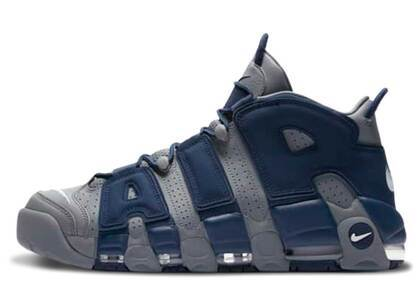 Nike Air Moreuptenpo 96 Cool Grey and Midnight Navy (2021)の写真