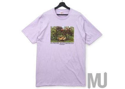 Supreme Masterpieces Tee Light Purpleの写真