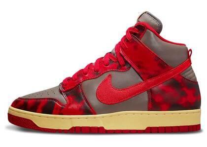 Nike Dunk High 1985 Red Acid Washの写真