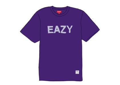Supreme Eazy S-S Top Purpleの写真