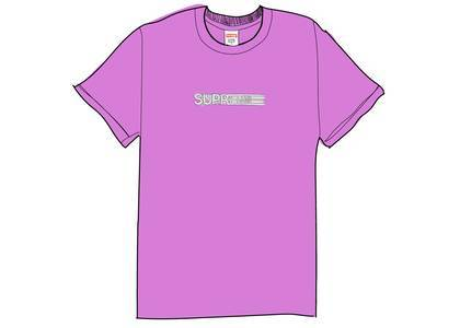 Supreme Motion Logo Tee (SS20) Purpleの写真