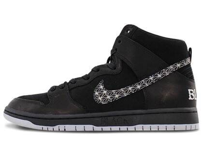 Nike SB Dunk High Black Barの写真