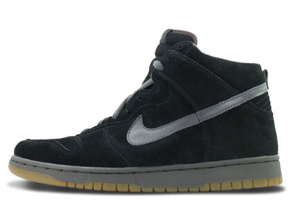 Nike SB Dunk High Black Midnight Fogの写真