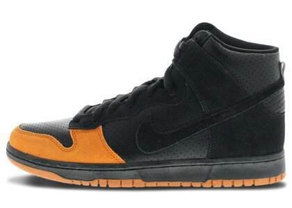 Nike SB Dunk High Black Solar Orangeの写真