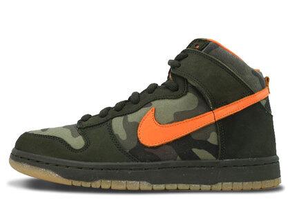 Nike SB Dunk High Brian Anderson Camoの写真