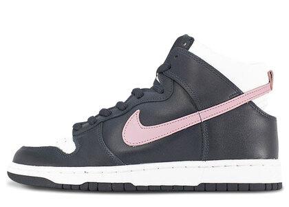 Nike SB Dunk High Dark Obsidian Shy Pinkの写真