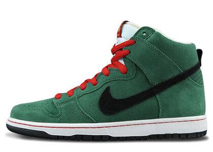 Nike SB Dunk High Heinekenの写真