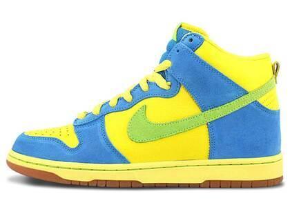 Nike SB Dunk High Marge Simpsonの写真