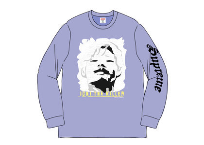 Supreme Ichi The Killer L-S Tee Light Purpleの写真
