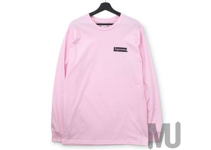 Supreme Sacred Unique L-S Tee Light Pinkの写真