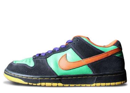 Nike SB Dunk Low Green Spark Hoop Orangeの写真