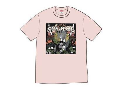 Supreme Dragon Tee Heather Pinkの写真