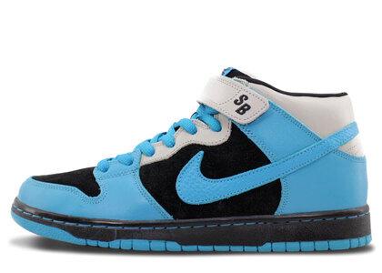 Nike SB Dunk Mid Aqua Fuel Blueの写真