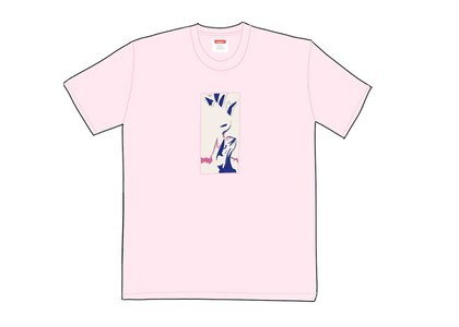 Supreme My Bloody Valentine Glider Tee Heather Pinkの写真