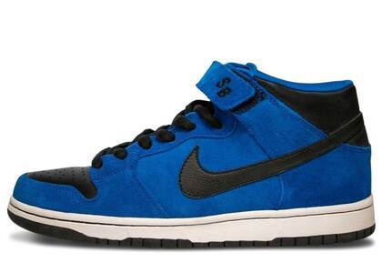 Nike SB Dunk Mid Royal Blue Blackの写真