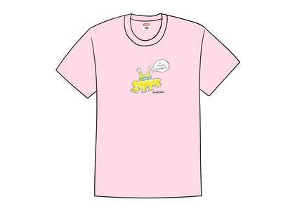 Supreme Daniel Johnston Frog Tee Light Pinkの写真