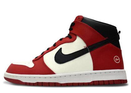 Nike Dunk High fragment design NYCの写真
