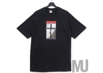 Supreme Loved By The Children Tee Blackの写真