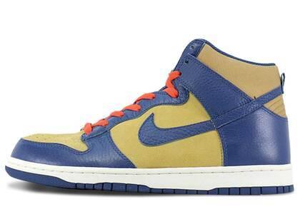 Nike Dunk High Golden Harvest Meteor Blueの写真