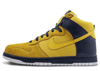 Nike Dunk High Golden State Warriorsの写真