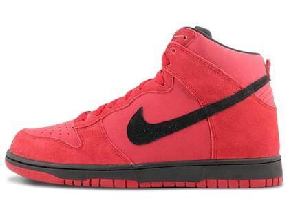 Nike Dunk High Gym Red Blackの写真