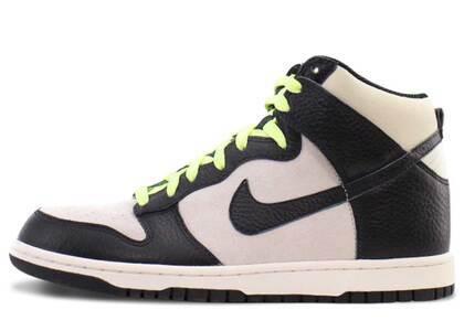 Nike Dunk High Light Bone Black Light Liquid Limeの写真