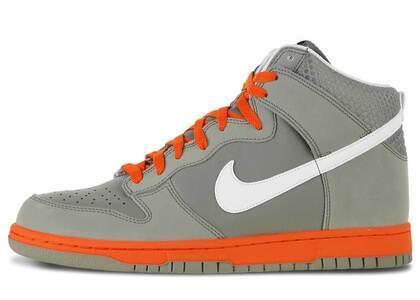 Nike Dunk High Light Charcoal Team Orangeの写真