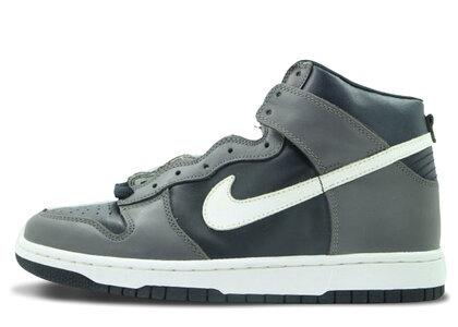 Nike Dunk High Light Graphite Dark Obsidianの写真