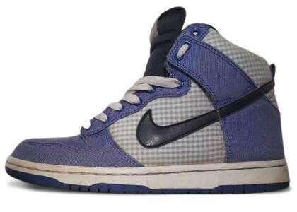 Nike Dunk High Lyon Blue Ginghamの写真