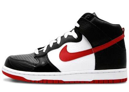 Nike Dunk High Patent Toe Bredの写真