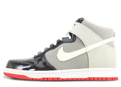 Nike Dunk High Patent Toe Grey Sunburstの写真