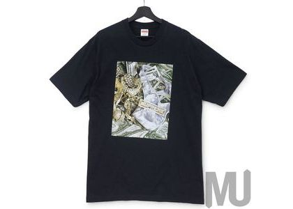 Supreme Bling Tee Blackの写真