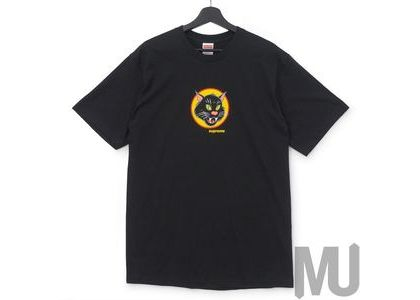 Supreme Black Cat Tee Blackの写真