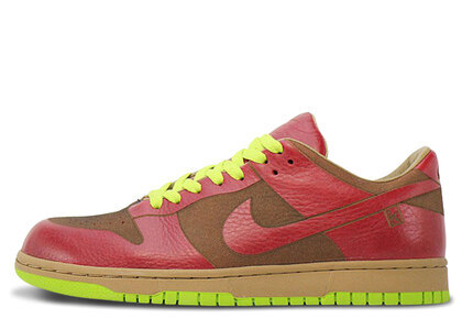Nike Dunk Low 1-Piece Laser Varsity Red Chartreuseの写真