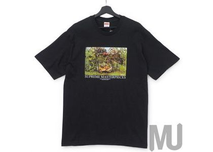Supreme Masterpieces Tee Blackの写真
