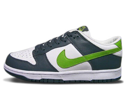 Nike Dunk Low Dark Blue Grey Mean Greenの写真
