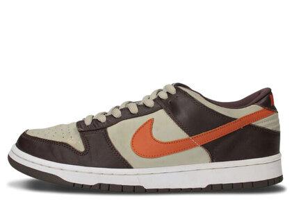 Nike Dunk Low Light Stone Mesa Orangeの写真