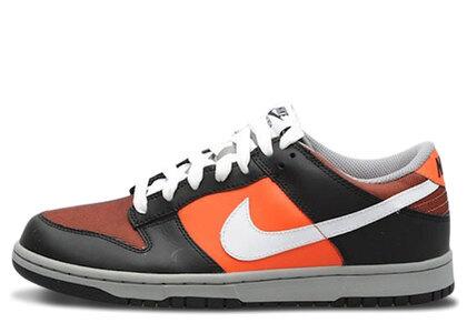 Nike Dunk Low Orange Blaze White Blackの写真
