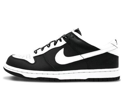 Nike Dunk Low White Black Midnight Fogの写真